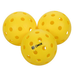 Onix Pure 2 Outdoor Pickleball Ball 3 Pack - Yellow