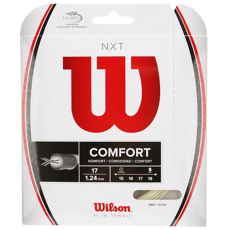 Wilson NXT 17 Gauge String- Natural