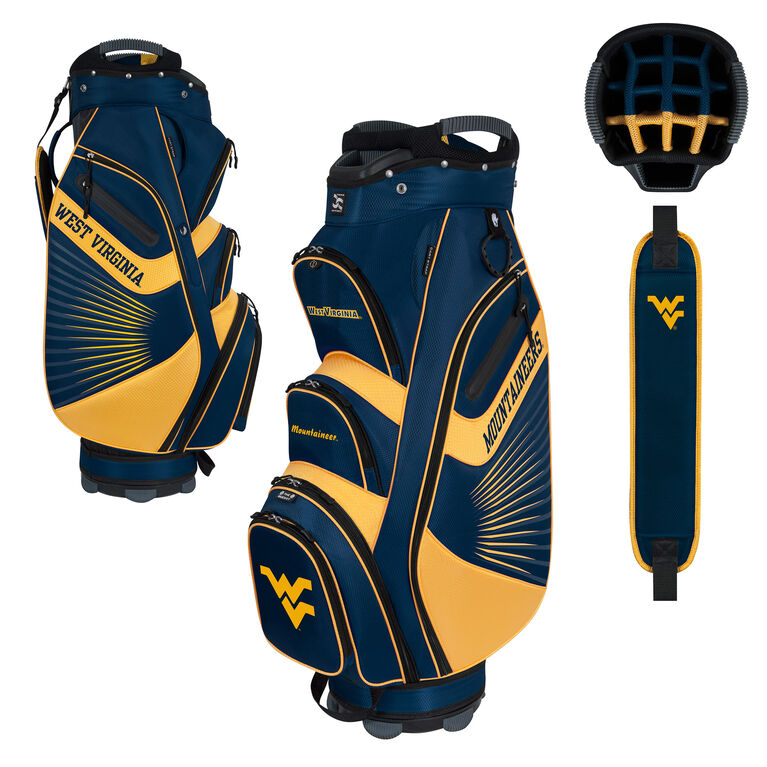 Team Effort West Virginia Bucket II Cart Bag