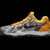 Zoom Cage 3 Men's Tennis Shoe - Grey/Orange