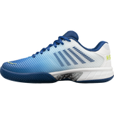 Alternate View 4 of Hypercourt Express 2 Men's Tennis Shoe - White/Blue