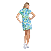 Alternate View 3 of Fun in the Sun Collection: Neale Tangled Tropics Short Sleeve Dress