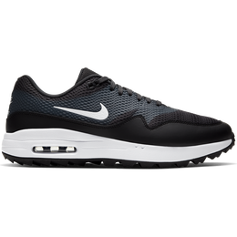 Air Max 1 G Men's Golf Shoe - Black/White