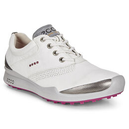 ECCO BIOM Hybrid Women's Golf Shoe - White/Pink