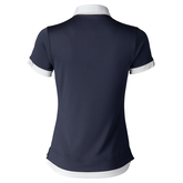 Alternate View 2 of Coastal Collection: Tibby Navy Contrast Trim Polo