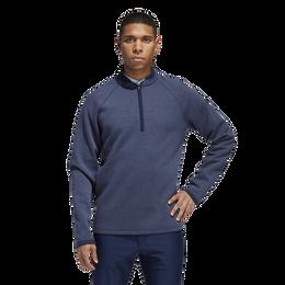 Long Sleeve Quarter Zip Blade Collar Sweater