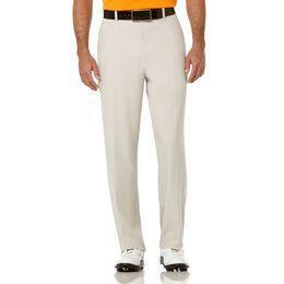 PGA TOUR Extender Comfort Flat Front Pant - Moonstruk