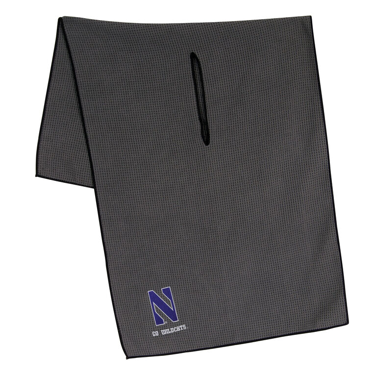 Team Effort Northwestern Wildcats Microfiber Towel