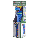World of Golf Kid's Golf Set in package