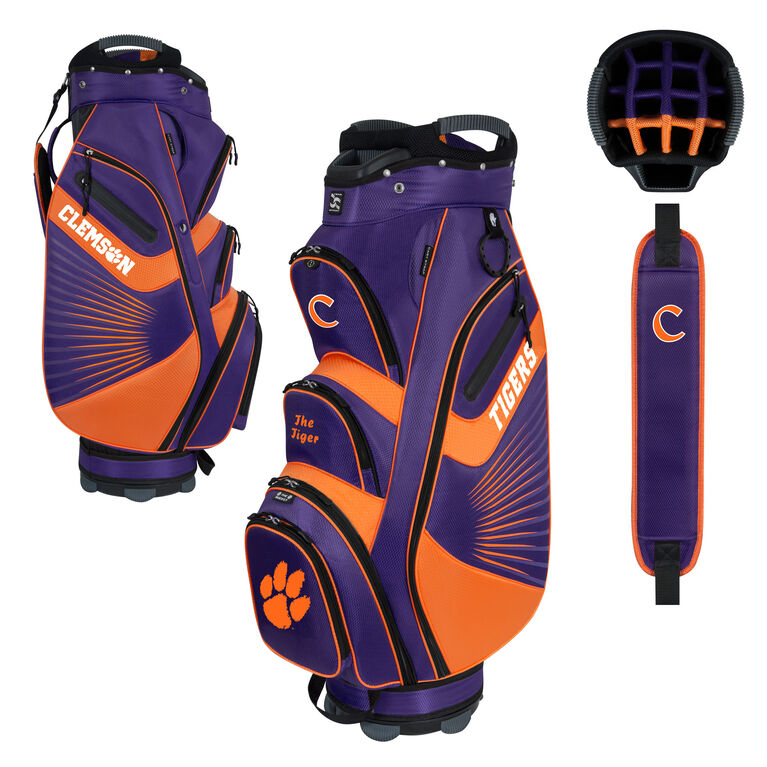 Team Effort Clemson Bucket II Cart Bag