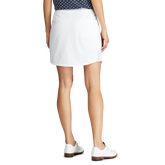 Alternate View 2 of Solid Perforated Stretch Golf Skort