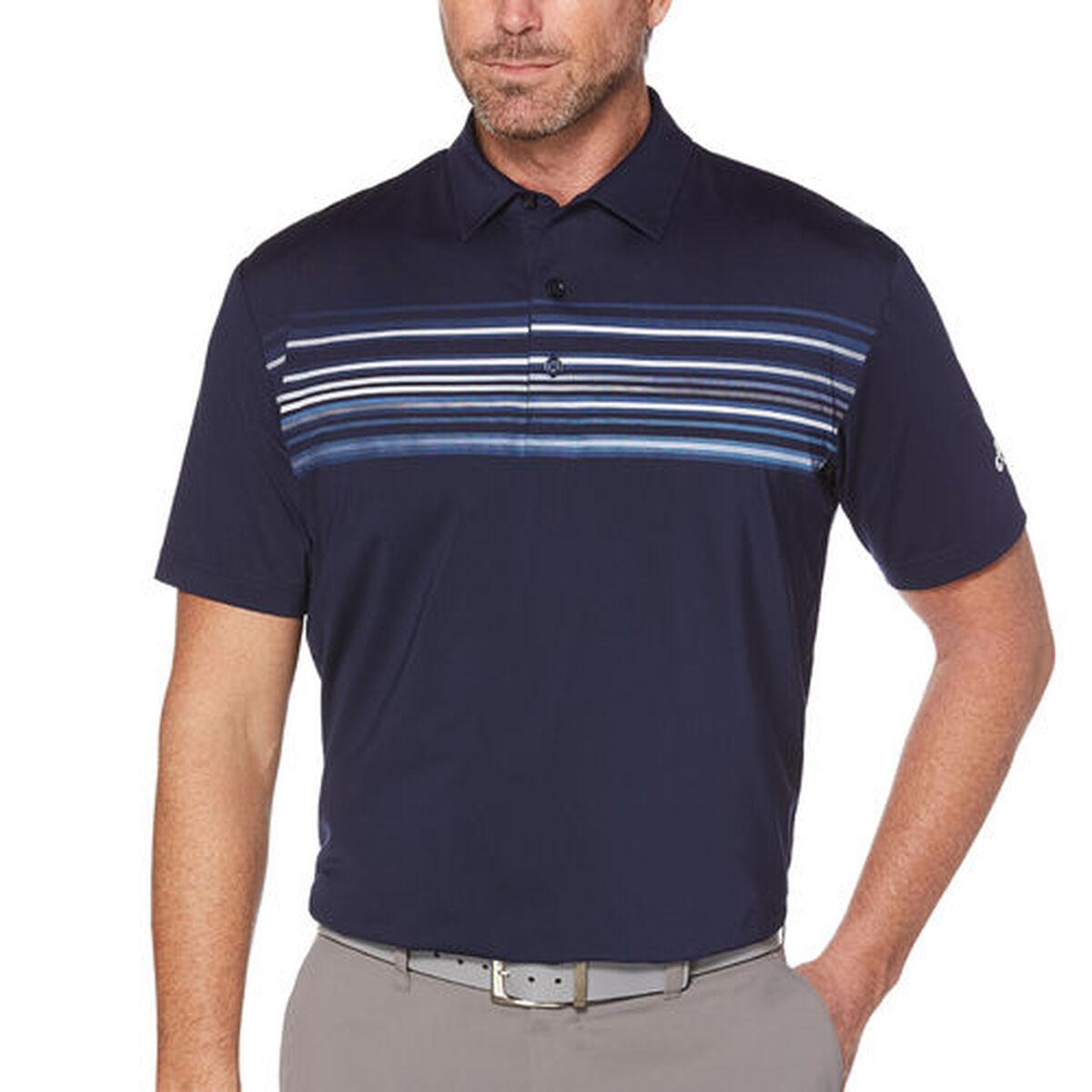 b1d656fe6 Callaway Men's Opti-Dri Chest Pigment Print Short Sleeve Polo Zoom Image
