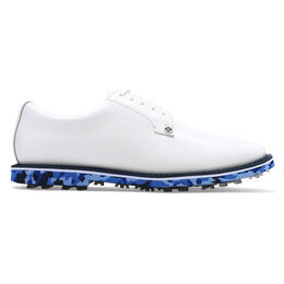 Camo Gallivanter Men's Golf Shoe - White/Blue