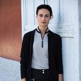 Blush Group: Talia Black Sleeveless Polo