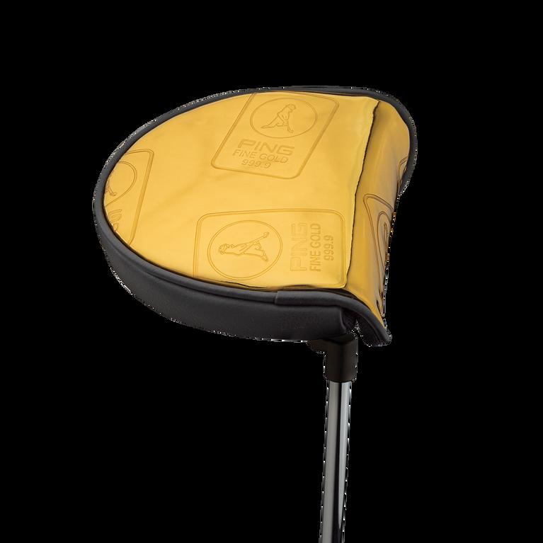 Gold Vault Mallet Putter Cover