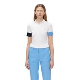Short Sleeve Contrast Trim Polo