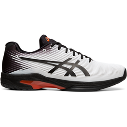 SOLUTION SPEED FF Men's Tennis Shoe - White/Black