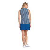 Alternate View 3 of Tranquil Bay Collection: Veranda Striped Sleeveless Golf Top