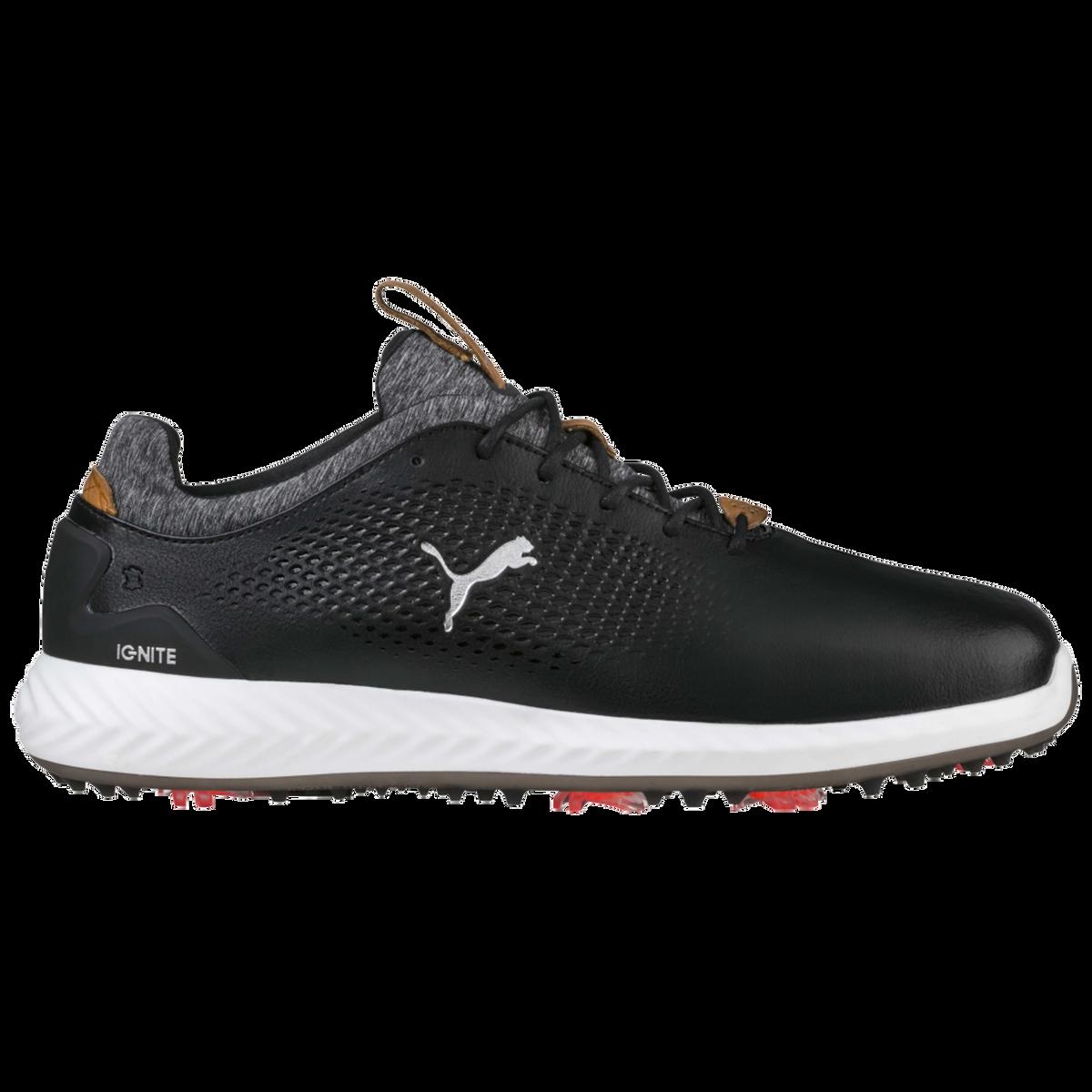 61aa3988b00 Images. PUMA IGNITE PWRADAPT Leather Men  39 s Golf Shoe - Black