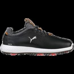 PUMA IGNITE PWRADAPT Leather Men's Golf Shoe - Black