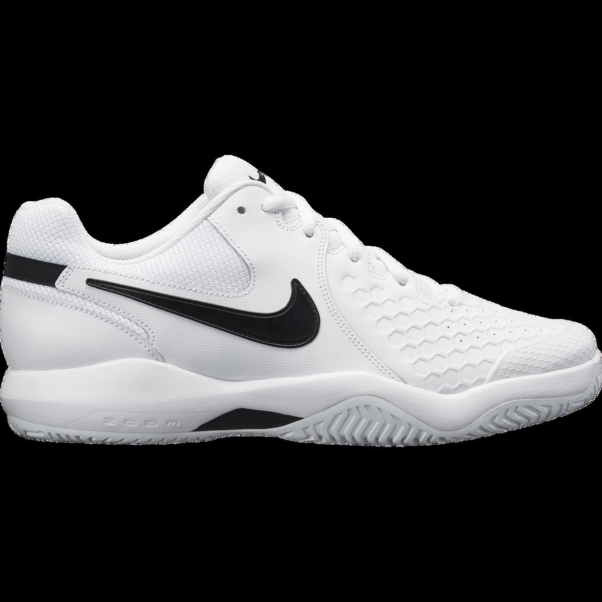 872d56dc2673 Images. Nike Air Zoom Resistance Men  39 s Tennis Shoe - White Black