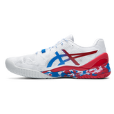 Alternate View 1 of GEL RESOLUTION 8 LE TOKYO Men's Tennis Shoes - White/Red