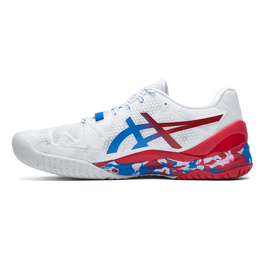 GEL RESOLUTION 8 LE TOKYO Men's Tennis Shoes - White/Red