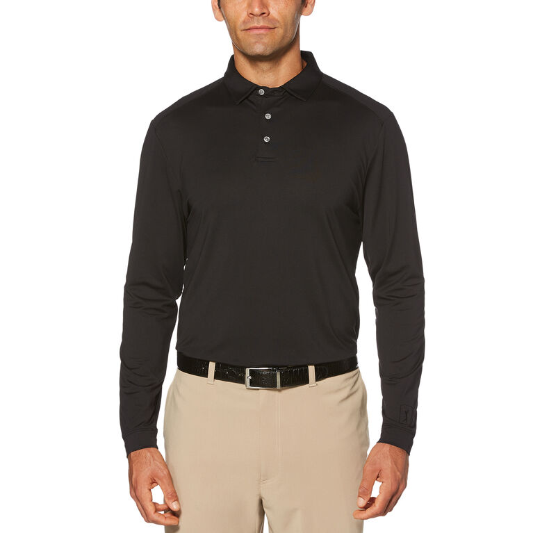 PGA Tour Long Sleeve Motion Flux Polo