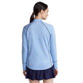 Alternate View 4 of Performance Golf Scallop Collar Quarter Zip Pull Over