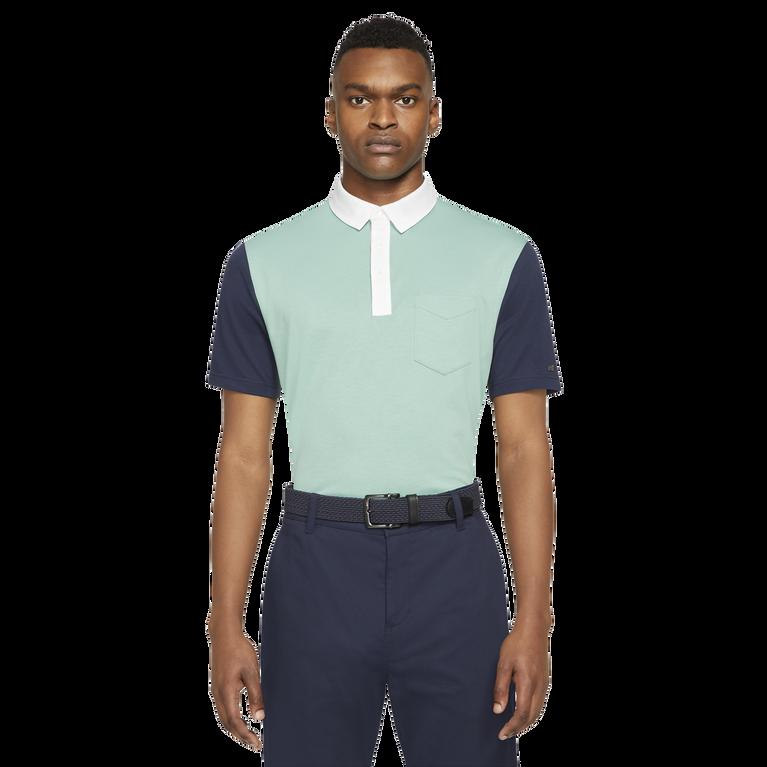 Dri-FIT Player Men's Color-Blocked Golf Polo