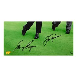 """Gary Player & Jack Nicklaus Autographed """"Dual with Jack"""" 16"""" x 20"""""""