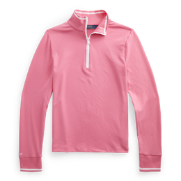 Girls Extreme Jersey Quarter Zip Pull Over