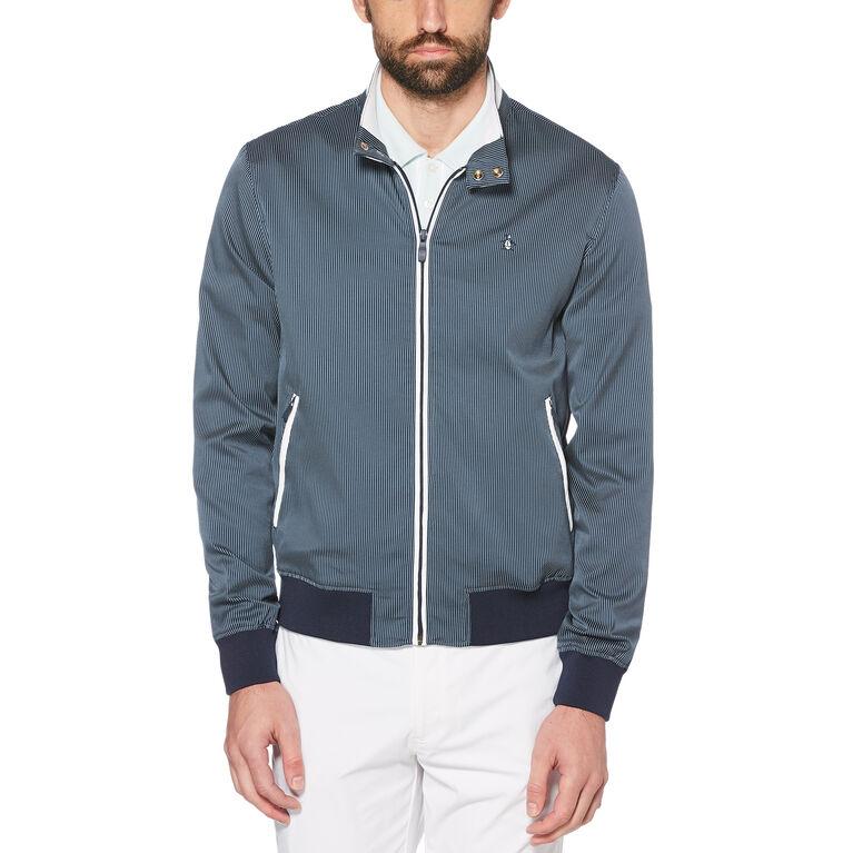 Full Zip Harrington Jacket