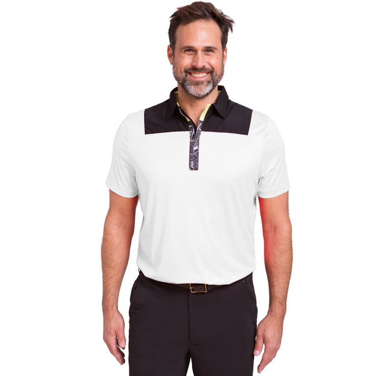 Core 2020: SS Contrast Shoulder Polo (CO