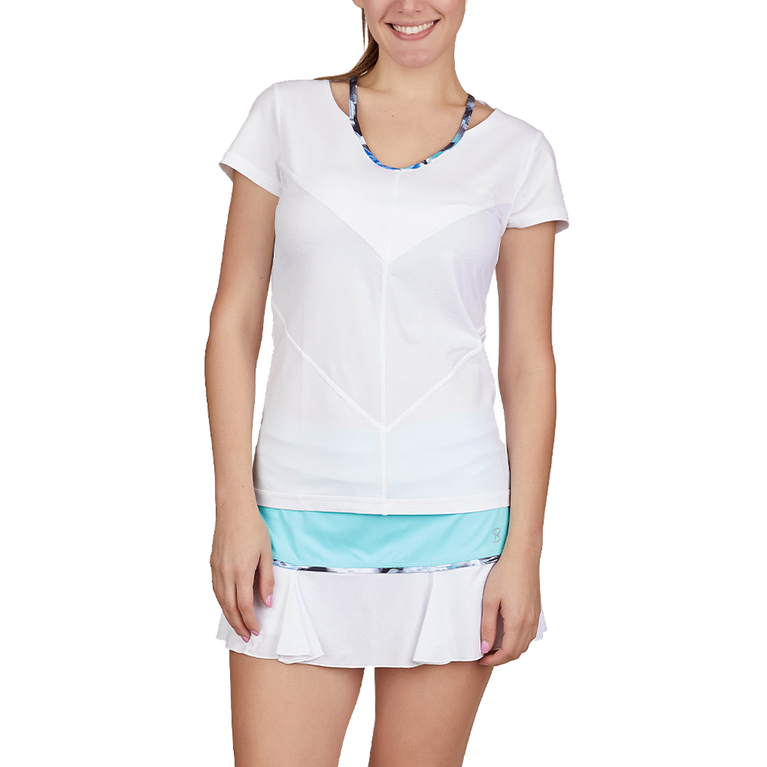 Dreamscape Collection: Short Sleeve Tennis Top