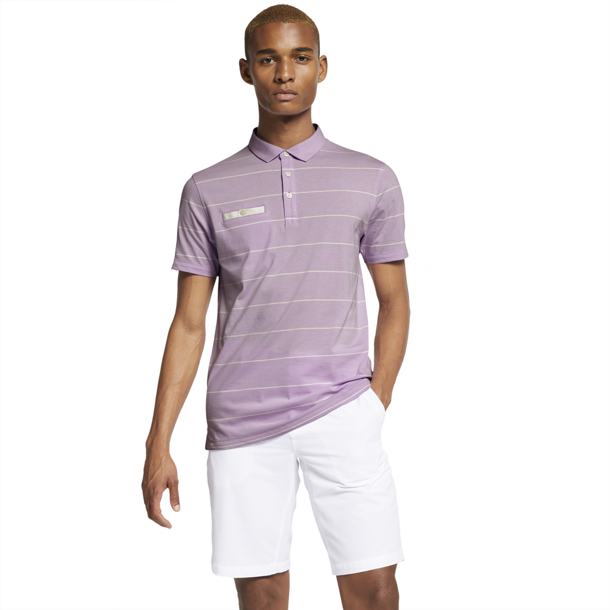 super popular 3aa84 c6b55 Images. Dri-Fit Player Pocket Striped Golf Polo