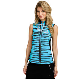 Bali Group: Sleeveless Stripe Front Top