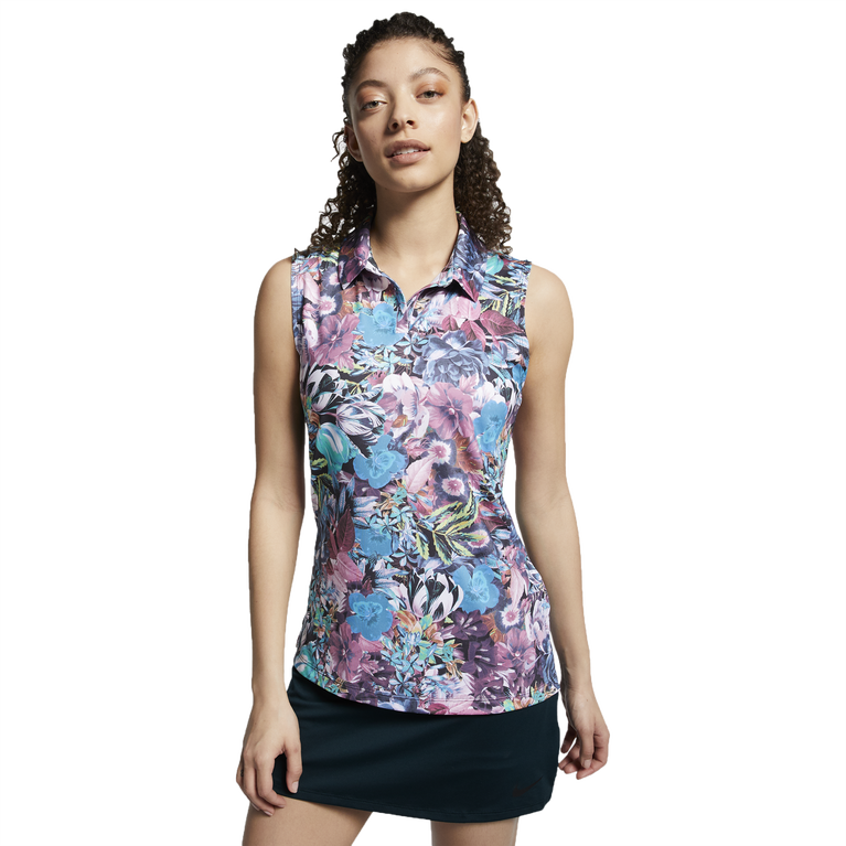 Dri-FIT Sleeveless Printed Polo