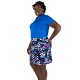 Alternate View 1 of Rojito Collection: Floral A-Line Mina Golf Skort
