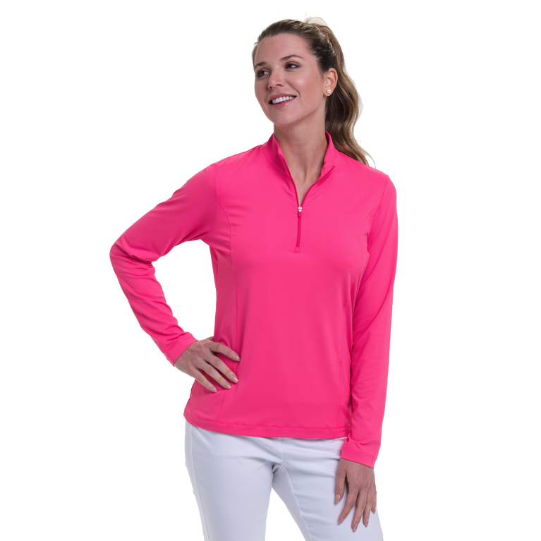 To Dye For Collection: Performance Jersey Quarter Zip Pull Over