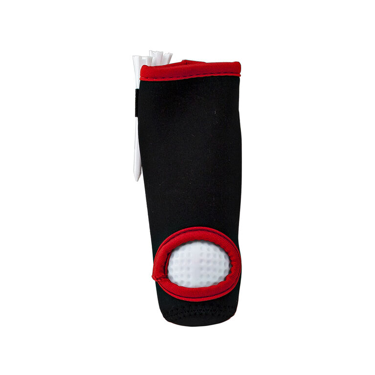 Golf Gifts & Gallery Neoprene Golf Ball Sleeve with golf balls