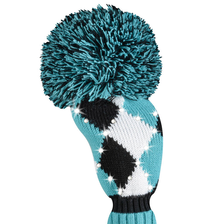 Just 4 Golf Sparkle Diamond Turquoise Fairway Headcover