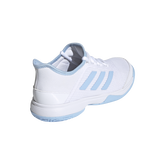 Alternate View 4 of Adizero Club Kids Tennis Shoe - White/Blue