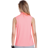Alternate View 1 of Super Nova Collection: Sleeveles Solid Cutout Top