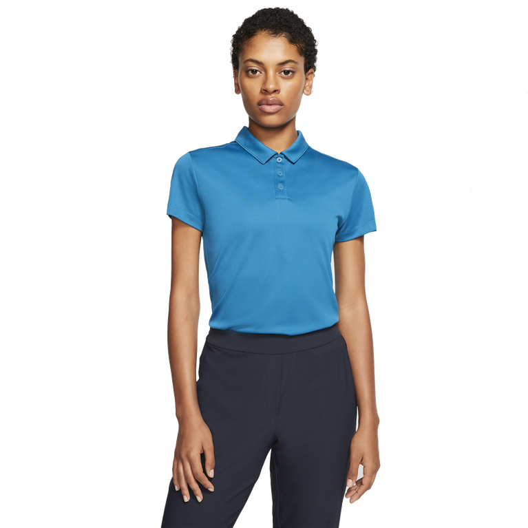 Dri-Fit Short Sleeve Solid Golf Polo Shirt