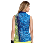 Alternate View 1 of Butter Collection: Sleeveless Wave Print Top