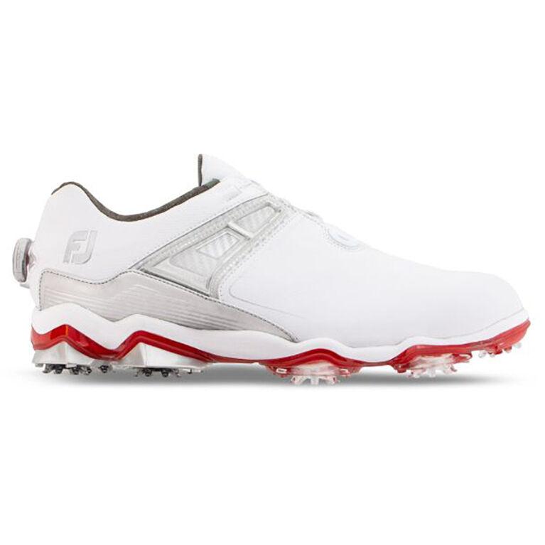 TOUR X BOA Men's Golf Shoe - White/Grey