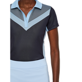 Alternate View 1 of Lilly TX Jacquard Polo