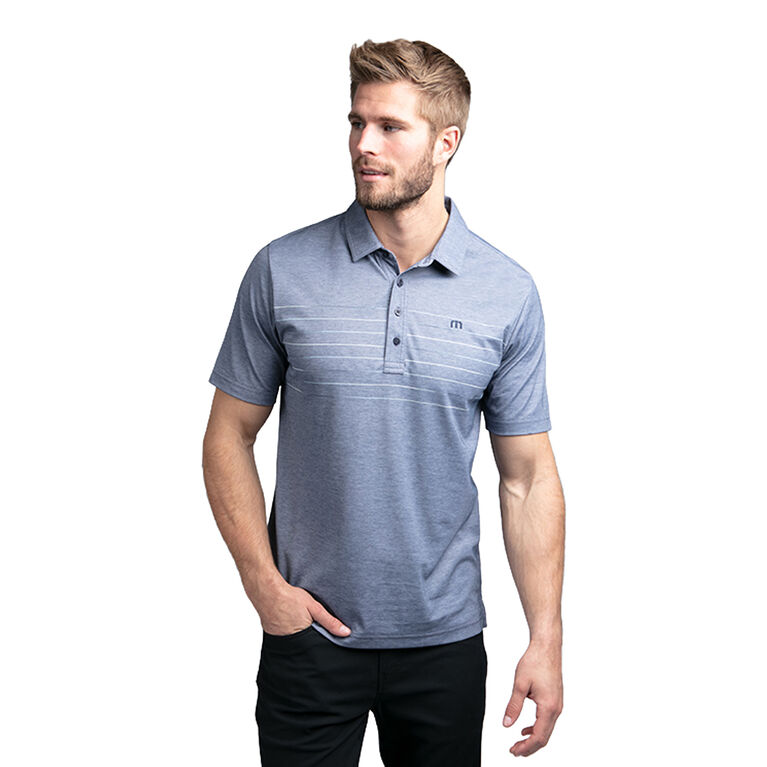 Good Good Short Sleeve Chest Chalk Stripe