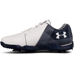Under Armour Spieth 2 Junior Shoe - White/Blue